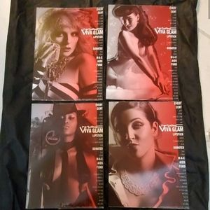 NEW MAC Cosmetics VIVA GLAM Collectible Postcards